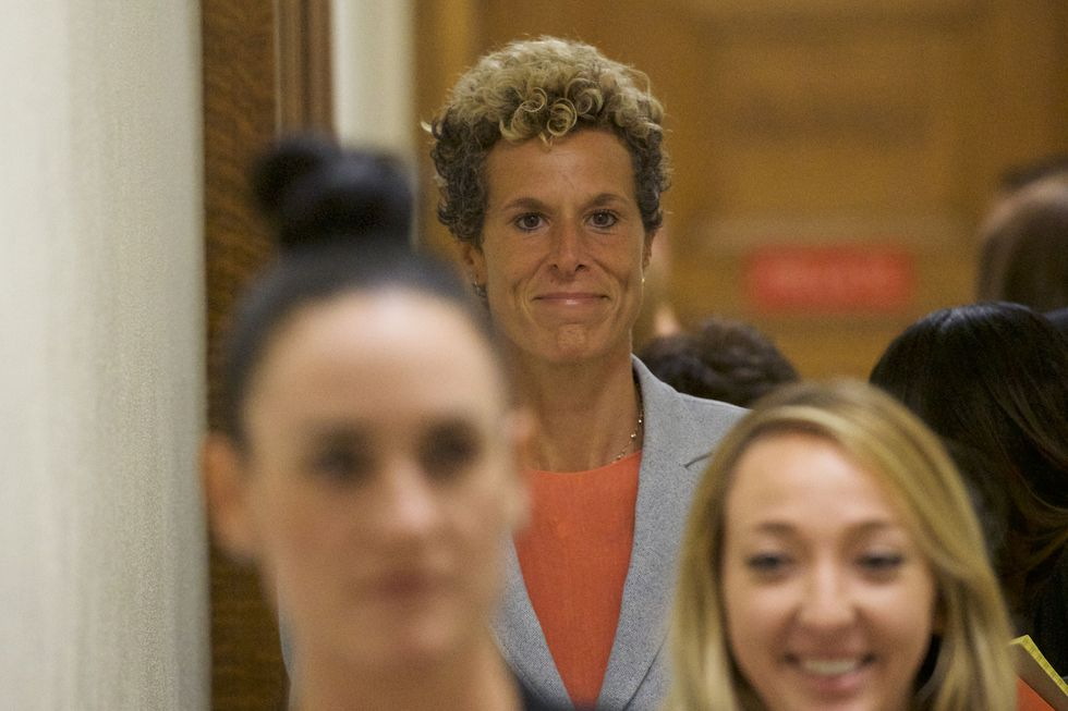Andrea Constand, la víctima Bill Cosby que consiguió justicia. (AFP).