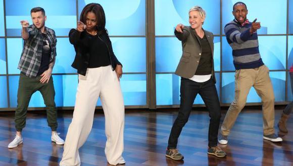 YouTube: Michelle Obama bailando en Tv. causa furor (VIDEO)