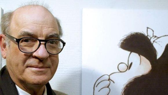"""Quino nació en Guaymallén, Mendoza, Argentina, el 17 de junio de 1932. Su primera página de humor fue publicado en """"Esto es"""" (Foto: AFP)"""