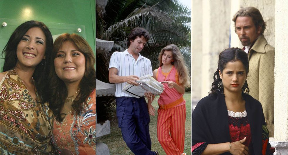 """La serie de Dina Páucar, """"Carmín"""" y la segunda versión de """"Perricholi"""" destacaron en sus fechas de estreno. (Fotos: El Comercio)"""