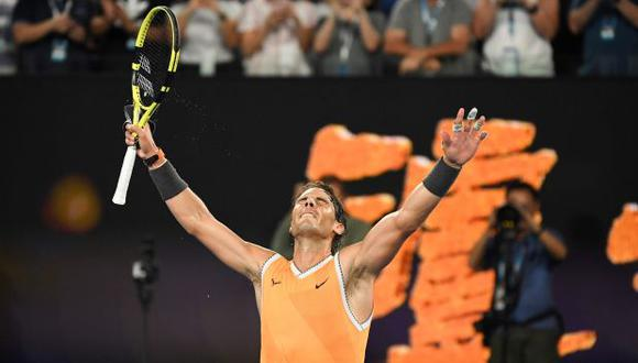 Nadal blindó la segunda posición mundial tras superar los cuartos de final. (Foto: AFP)