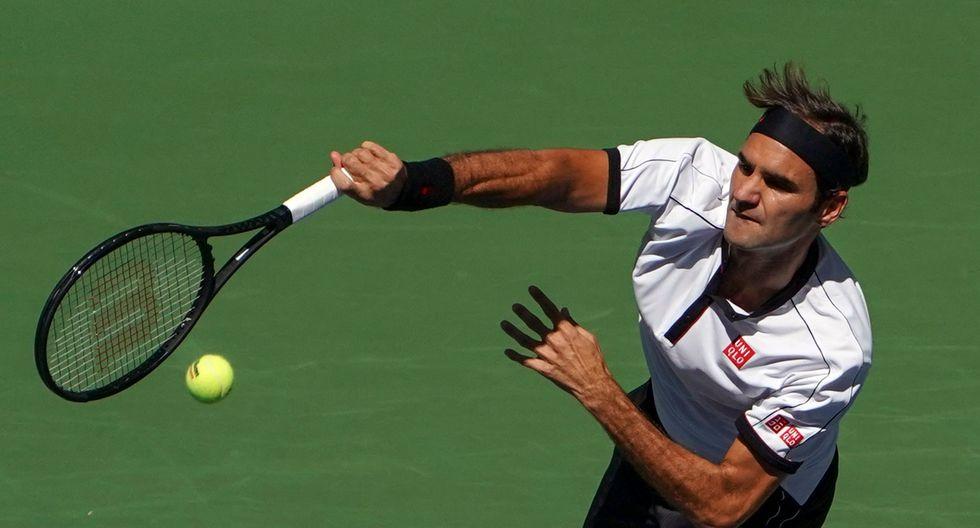 Federer vs. Evans EN VIVO: suizo busca la clasificación a los octavos de final del US Open 2019. (Foto: AFP)