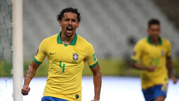 Marquinhos abrió el camino para la goleada de Brasil ante Bolivia. El resultado final fue 5-0. (Foto: Agencias)