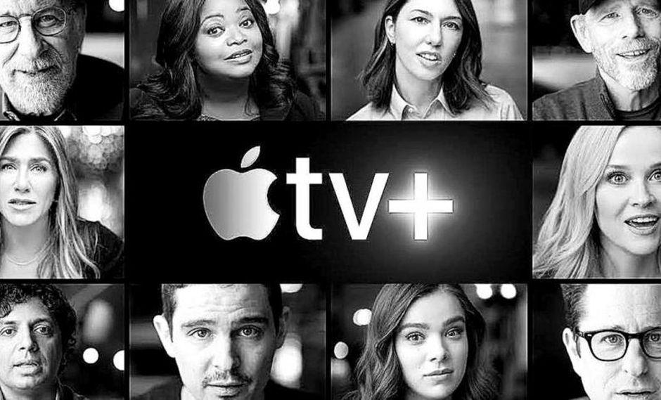 Apple TV +, la plataforma de suscripción a películas y TV, forma parte de una campaña de Apple con la que pretende alcanzar 50.000 millones de dólares en ventas de servicios en 2020. (Foto: Apple)