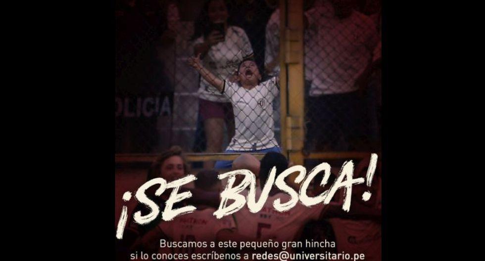 Universitario: ¿quién es el niño emocionado qué grita los goles como nadie en el Monumental? FOTO: El Bocón / Universitario