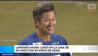 Futbolista Kazuyoshi Miura es titular en la liga japonesa con 53 años