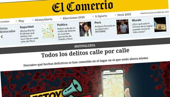 La renovada web de El Comercio mostrará más información de calidad para los usuarios.