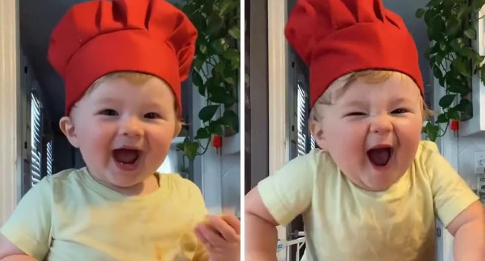 El bebé tiene muchos seguidores en TikTok. (Foto: @ashleywian)