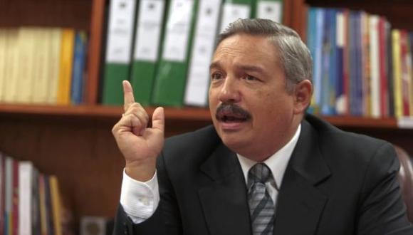 """""""Faltando ocho días para la elección, aún hay un altísimo sector que no ha decidido su voto"""", dijo Alberto Beingolea. (Foto: USI)"""