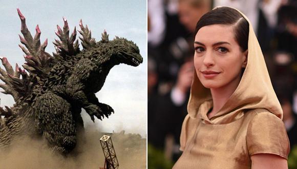 """Productora de """"Godzilla"""" contra nuevo filme de Anne Hathaway"""