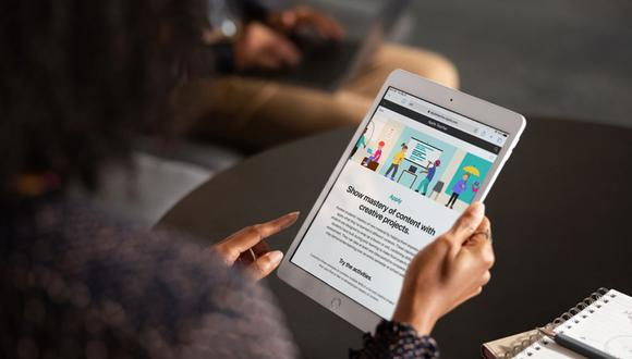 Para este 2021 se cree que Apple podría lanzar un nuevo modelo de iPad. (Foto: Apple)