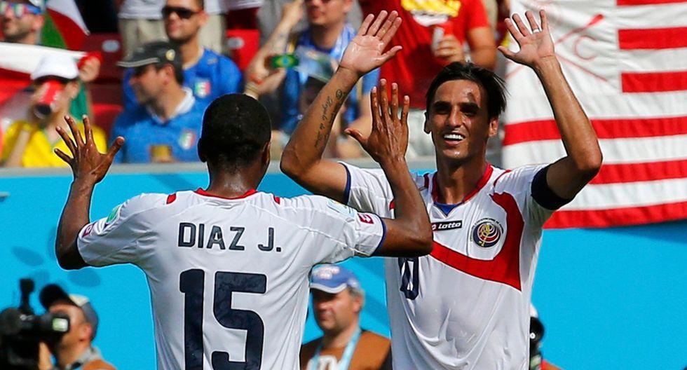 Italia vs. Costa Rica: así fue el gol de cabeza de Bryan Ruiz - 10
