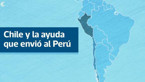 ¿Qué envió Chile en sus 18 toneladas de ayuda al Perú?
