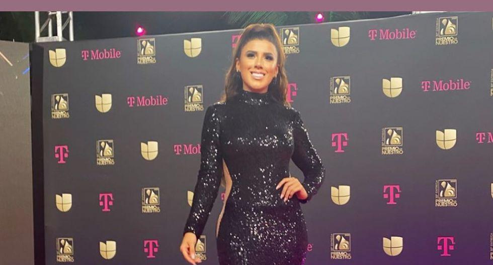 La salsera Yahaira Plasencia publicó en Instagram su experiencia en la alfombra roja de Premios Lo Nuestro 2020. (Foto: Instagram)