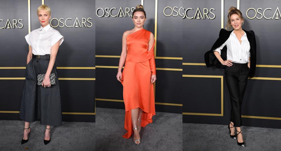 Con una clave más casual, pero sin dejar de lucir sofisticadas, las actrices de Hollywood nominadas al Oscar 2020 participaron en el tradicional almuerzo previo a la gala. Conoce los detalles detrás de sus looks en esta galería.