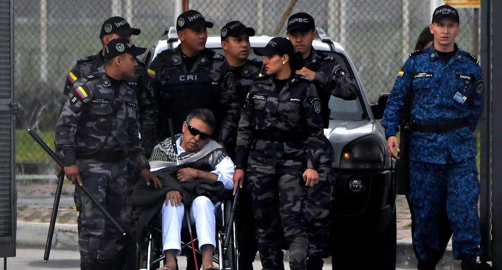 """Jesús Santrich: Trasladan al ex líder de las FARC a una clínica por """"alteración del estado de conciencia""""   Colombia. (AFP)."""