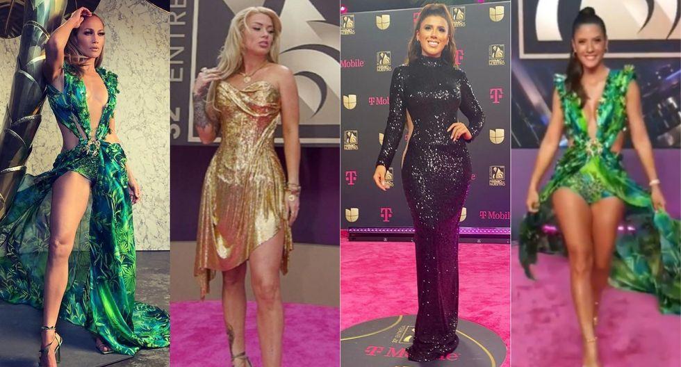 Yahaira Plasencia, Jennifer Lopez y María Pía Copello: vestidos de las estrellas son vendidos en Gamarra a menos de 300 soles (Foto: Instagram)