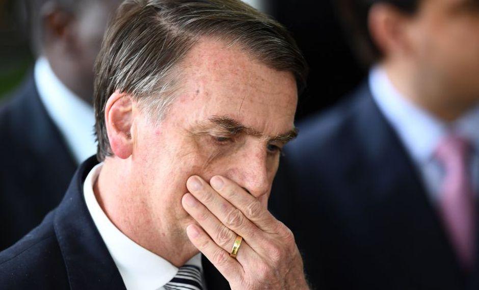 Brasil: La respuesta de Jair Bolsonaro a las sospechas de supuesta evasión fiscal. (AFP)