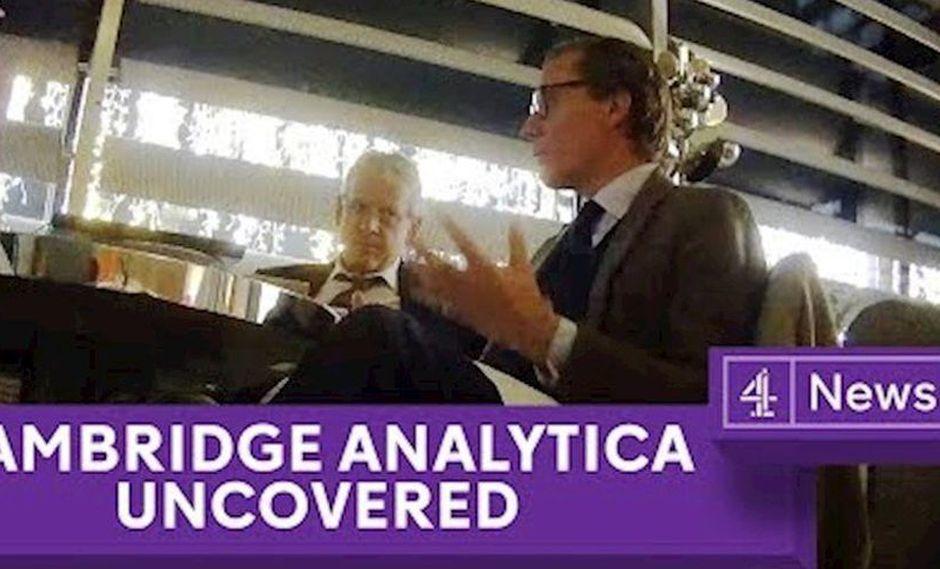 Facebook | Directivos de Cambridge Analytica se jactan de interferir en elecciones | VIDEO. (Foto: Captura)