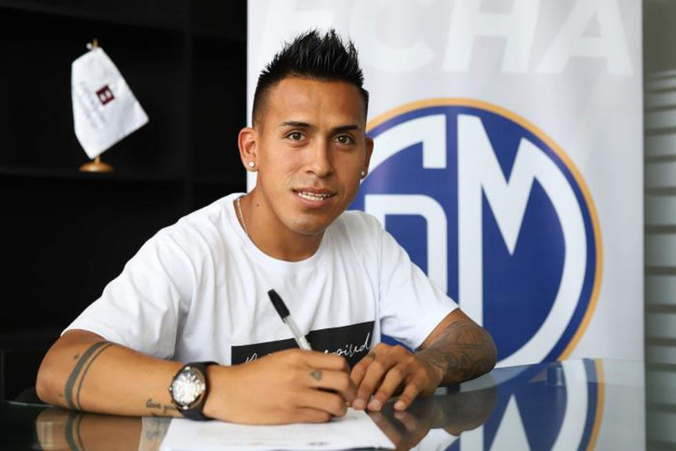 Carlos Neyra le cuenta a El comercio la decisión de llegar al Deportivo Municipal | Foto: Prensa Deportivo Municipal