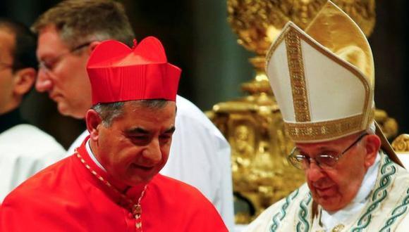 El cardenal Giovanni Angelo Becciu era un consejero cercano al Papa. (Reuters).