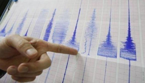 El sismo ocurrió esta mañana.