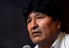 Evo Morales solicita apoyo internacional para las próximas elecciones en Bolivia