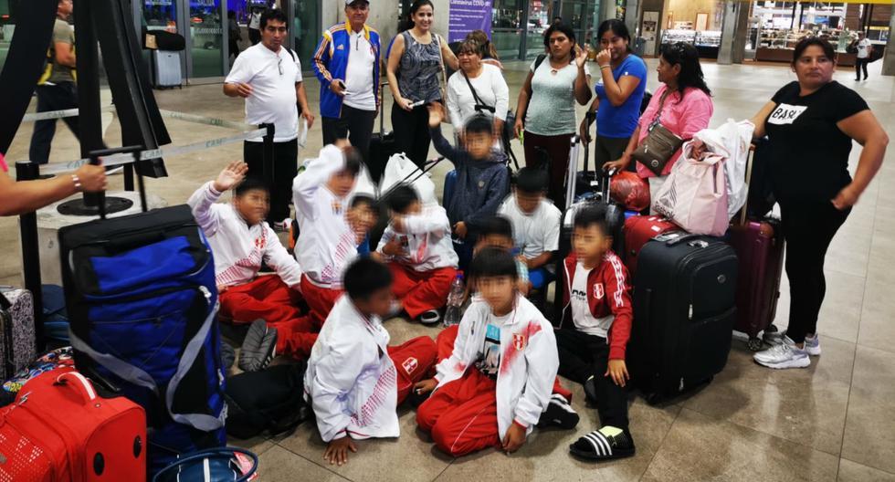 Campeonar en Piura le valió a la categoría sub 10 de la Academia Formativa de Fútbol Uniendo Talentos, de Huacho, viajar a la ciudad mexicana de Monterrey, sin pensar que terminarían varados en ese país debido a las medidas adoptadas ante la pandemia de COVID-19. (Archivo personal)