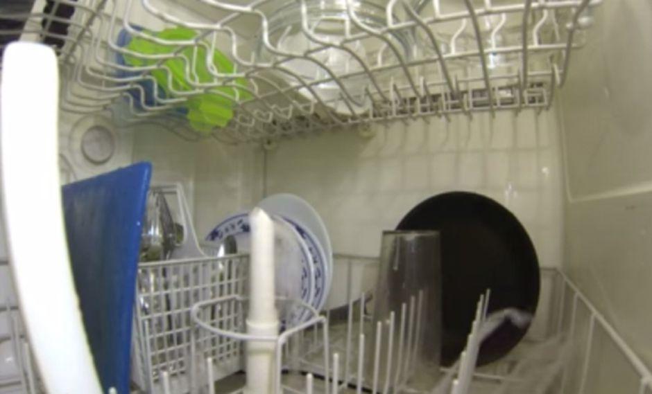 VIDEO: ¿Cómo funciona una lavadora de platos por dentro?