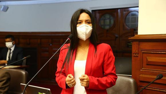 Felícita Tocto es el reemplazo de Guillermo Aliaga en la Subcomisón de Acusaciones Constitucionales. (Foto: Congreso)
