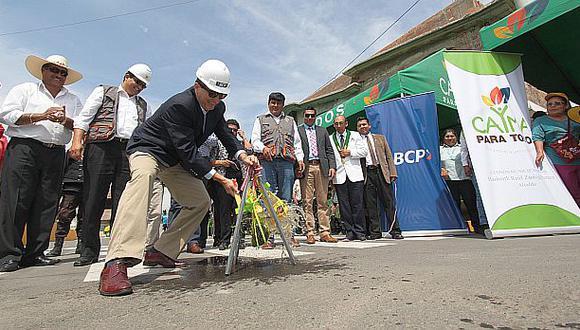 BCP invierte S/17 mlls. en obras por impuestos en Arequipa