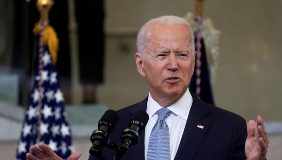 El presidente de Estados Unidos, Joe Biden. REUTERS