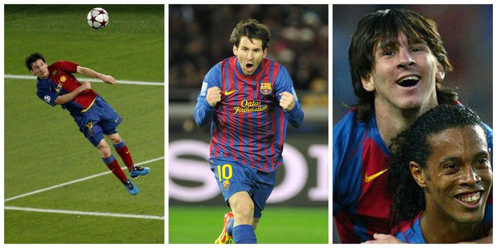 Los goles más importantes de Messi con Barcelona.
