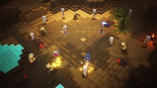 El último 'Minecraft Dungeons' llega a Steam con cross-play y cross-save