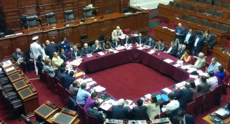 Gutiérrez y Cateriano expusieron en el Congreso sobre espionaje