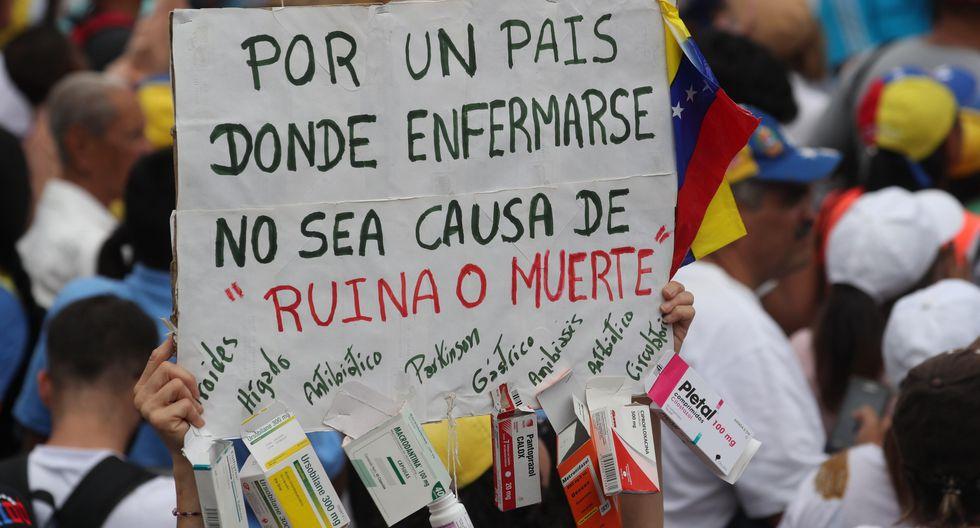 Juan Guaidó llamó este sábado a protestar en toda Venezuela frente a la arremetida del oficialismo contra el Parlamento tras el fallido alzamiento militar que buscaba sacar a Nicolás Maduro del poder. (EFE).