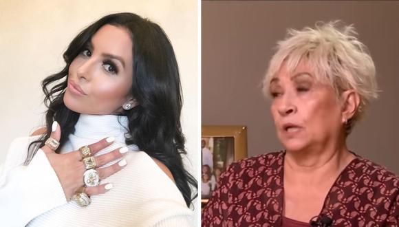 Vanessa Bryant señaló que siempre ha apoyado económicamente a su madre por más de 20 años. (Foto: Instagram: kobebryant / Captura de pantalla: YouTube).
