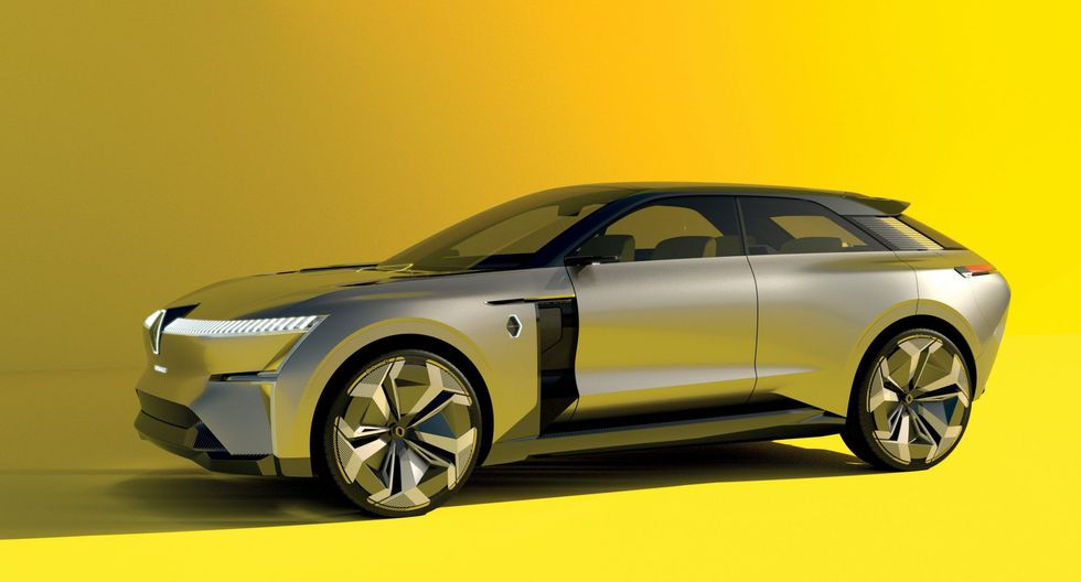 Morphoz, el nuevo concepto de carro eléctrico de Renault que se estira y se encoge. (EFE)
