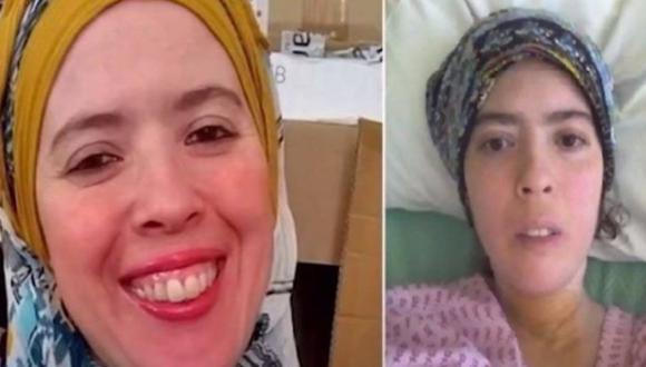 Coronavirus Reino Unido   Fatima Bridle: Covid-19 la mandó 105 días a UCI y regresó a casa con un solo pulmón funcionando. Foto captura de video: YouTube NEWS24