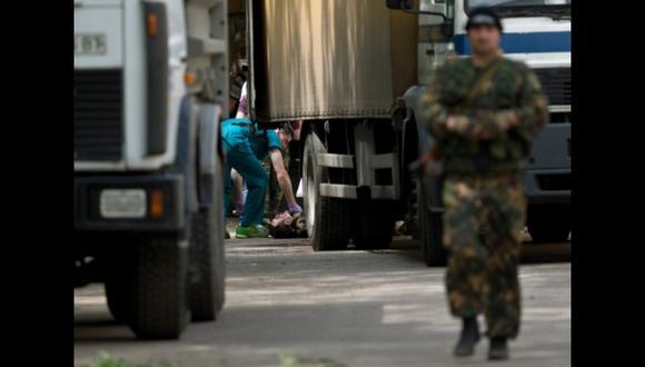 """Rusia exige a Kiev el cese inmediato del """"castigo"""" en Donetsk"""