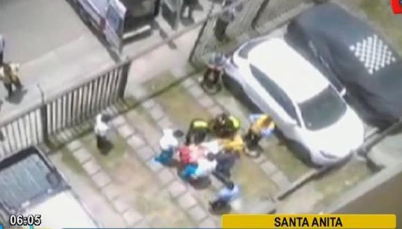 Santa Anita: venezolano falleció tras caer de séptimo piso