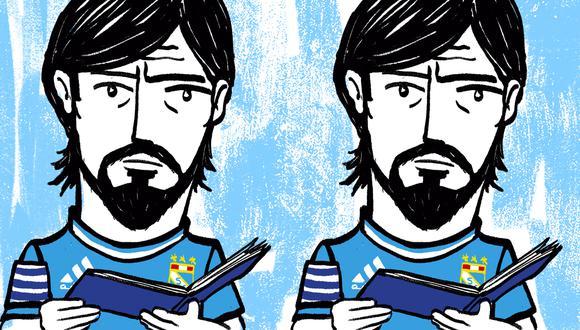 Jorge Cazulo llegó a Cristal en el 2012 y en nueve años conquistó cinco títulos nacionales. (Ilustración: Giovanni Tazza)