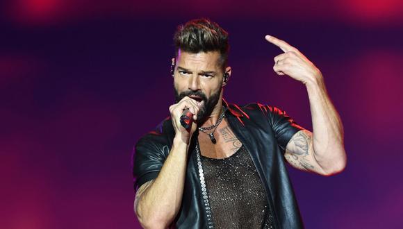 """Ricky Martin dice que el apoyo de algunos latinos a Donald Trump es """"muy triste"""". (Foto de PABLO PORCIUNCULA / AFP)"""