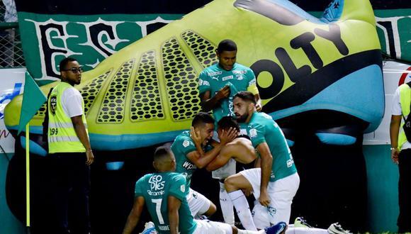Deportivo Cali le ganó 2-1 a River Plate de Paraguay en el partido de ida de la primera ronda de la Copa Sudamericana   Foto: Facebook / Deportivo Cali