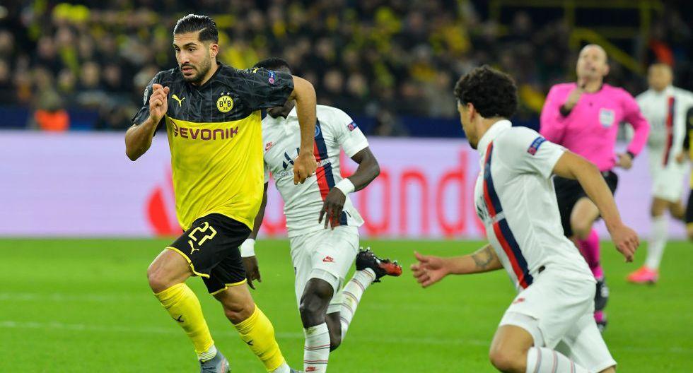 París-Saint Germain vs. Borussia Dortmund, por la ida de octavos de final de la Champions League. (Foto: AFP)