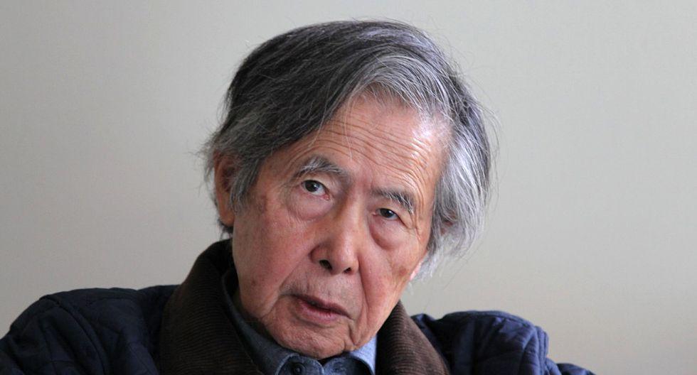 Alberto Fujimori cuestionó a aquellos que -dijo- buscan la desunión del fujimorismo (Foto: AFP)