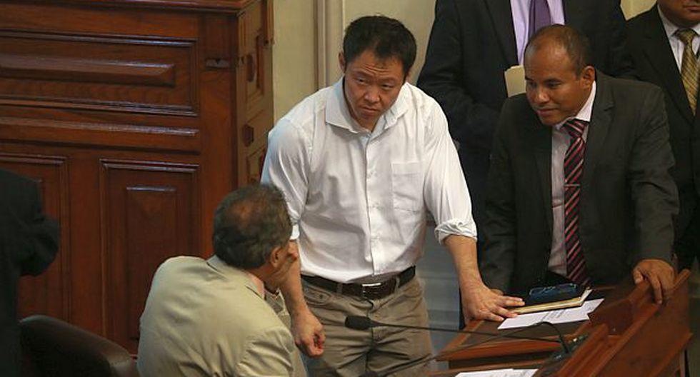 "Kenji Fujimori: ""Yo le brindo mi respaldo a Yeni Vilcatoma"""