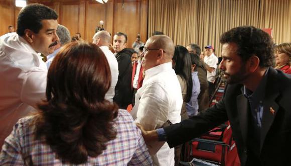 Maduro y Capriles se dan la mano contra el crimen