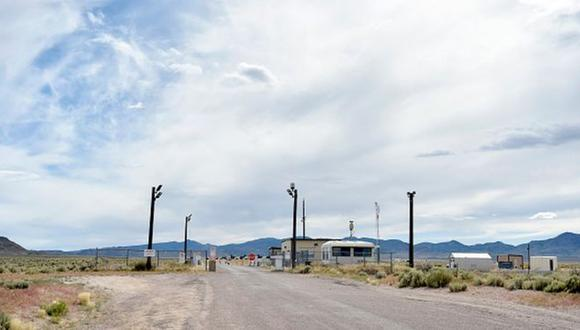 El Área 51 en el condado de Lincoln, Nevada, se ha prestado a múltiples teorías conspirativas.(Foto: Getty Images, vía BBC Mundo).