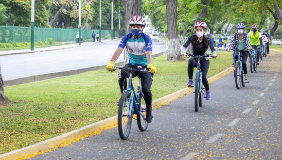 Se realizarán diversos circuitos, a fin de que los ciclistas puedan desplazarse de una mejor manera por la ciudad.(Foto: Municipalidad de Lima)